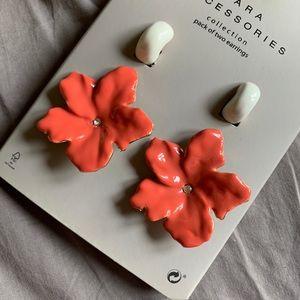 Zara Flower Earrings